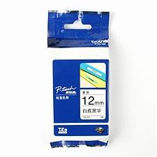 兄弟 标签色带 白底/黑字 12mm  TZe-231/TZe-Z231