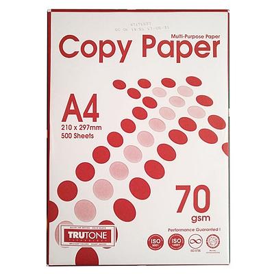 COPY PAPER 进口木浆复印纸 5/包  A4 70g
