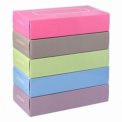 妮飘 盒装面巾纸量贩(易优百专供) 150抽×50盒  BF150*5PGY