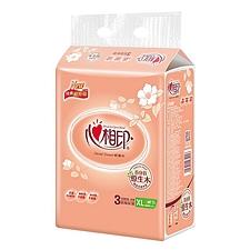 心相印 袋裝面巾紙 200抽(雙層) 3包/組  DT200