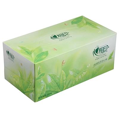 茶语盒装面巾纸