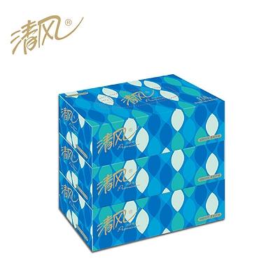 优质系列2层130抽盒装面巾纸