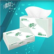 清风 擦手纸单层 200张/包*20  B900A