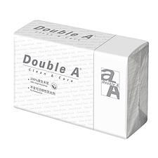 达伯埃 Double A Clean Care商用擦手纸(单层) 200抽/包 20包/箱  DL13SCA