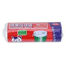 奇正 垃圾袋 (白色) 450*550mm 30只/卷