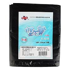 坚尔美 普通型型平底垃圾袋 (黑) 100*120cm(30只/包)  64274