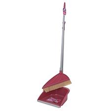 顺大 家品好帮手精品鬃毛扫帚簸箕组合庭扫 (混色)  JWL-9009