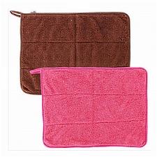 敏胤 超細纖維珊瑚絨多功能清潔巾 (彩色) 大號30*40cm 2條/包  M304
