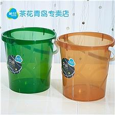 茶花 律动透明桶-S (随机) 13.5L  02421k