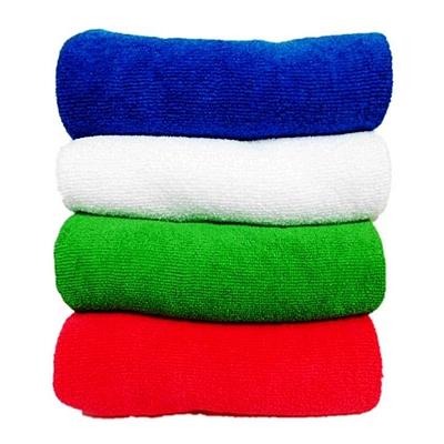 敏胤 超细纤维珊瑚绒多功能清洁巾 (混色随机) 30*60cm  M3060