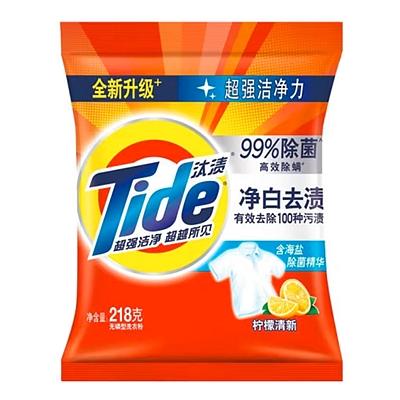 汰渍 净白去渍无磷洗衣粉 260g  柠檬清新型
