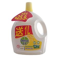 ?#28201;?衣物除菌液(加送1L) 2.5L  清新柠檬