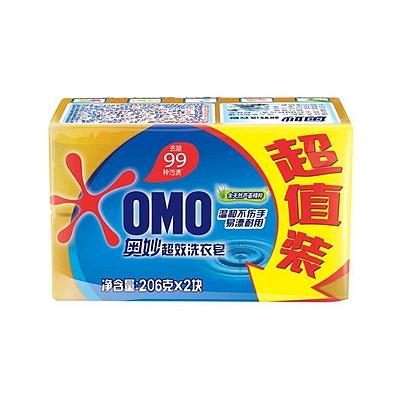 奥妙 99洗衣皂(第二块半价装) 206g*2  Bar