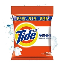 汰渍 净白去渍洗衣粉 1.55kg