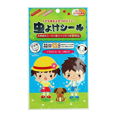 Seiwa-pro 防蚊贴 6枚/包