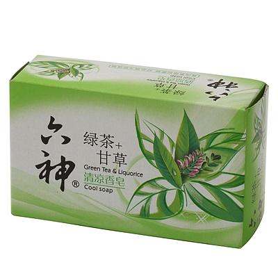 清凉绿茶香皂