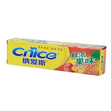 纳爱斯 鲜浓果味牙膏 120g