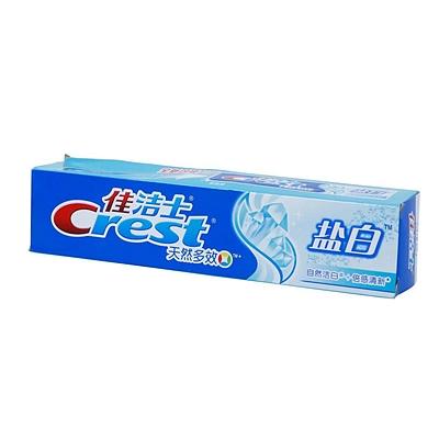 多效盐白牙膏