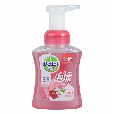 泡沫抑菌洗手液