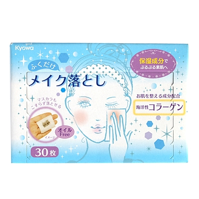 协和纸工 超保湿卸妆湿巾(海洋味)30枚