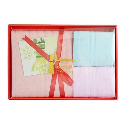 竹纤维毛巾浴巾礼盒
