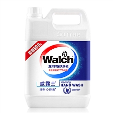 威露士 泡沫洗手液 5L  健康呵护