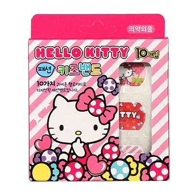 HelloKitty图案卡通创可贴 10枚