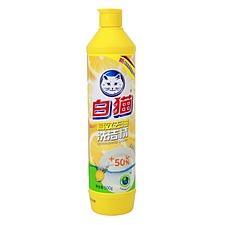 白猫 去油高效洗洁精 500g  清新柠檬香型