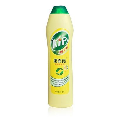洁而亮 强去污液 500ml  柠檬清香