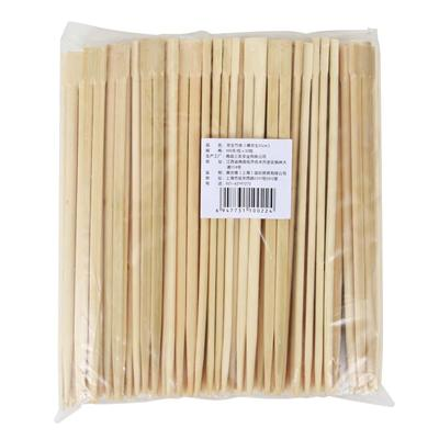 奥吉德 天削竹筷 长210mm 100双/包  开口式