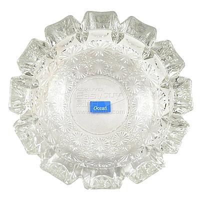 圓形玻璃齒輪式煙缸