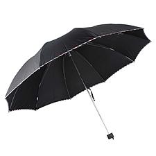 天堂伞 超大商务三折晴雨伞 (混色) 64cm*10K  3311E