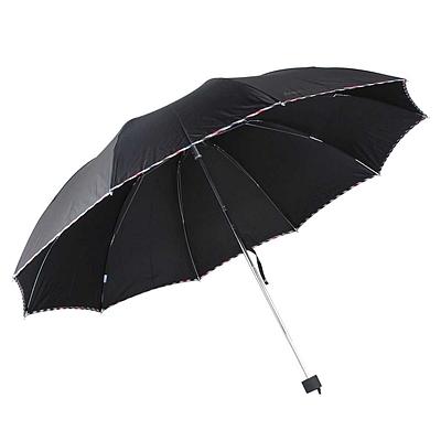 超大商务三折晴雨伞