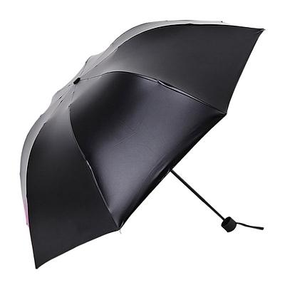 三折花色晴雨伞