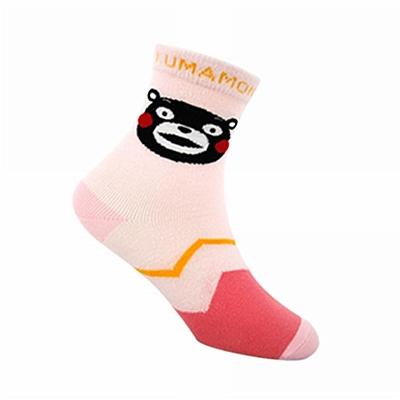 酷MA萌 儿童袜子 粉色