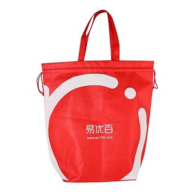 易优百 环保购物袋 (红色)
