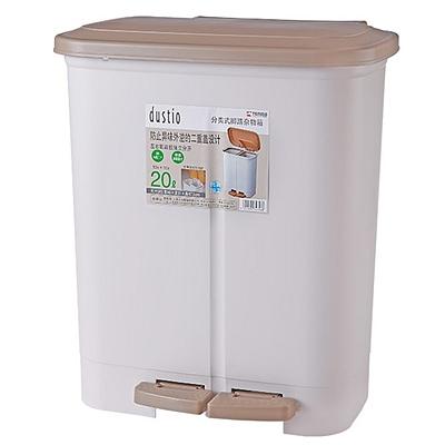 天马 脚踏式分类垃圾桶 40*31*47.5(H)cm