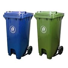 中天 踏板式塑料垃圾桶 (混色) 120L