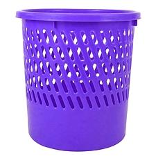 得力 圆形纸篓 (紫色)  9553