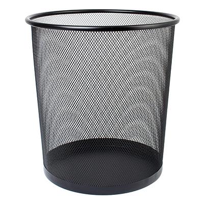 敏胤 垃圾桶 (黑) 中号  L5002