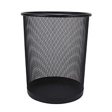 敏胤 小号丝网垃圾桶 (黑) 小号  L3515