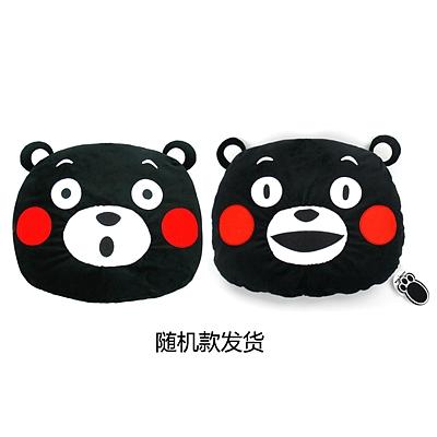 酷MA萌 立体抱枕(微笑惊讶款随机) (黑) 40cm  K16BE0003-2