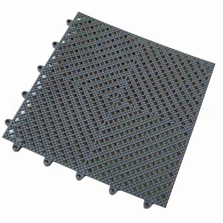 爱柯部落 洁伦疏水防滑拼块地垫 (深灰色) 12mm*30cm*30cm