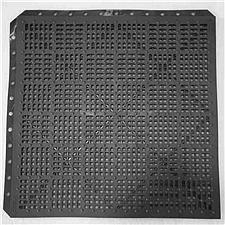 爱柯部落 洁伦经济型疏水防滑拼块地垫 (深灰色) 7mm*30cm*30cm