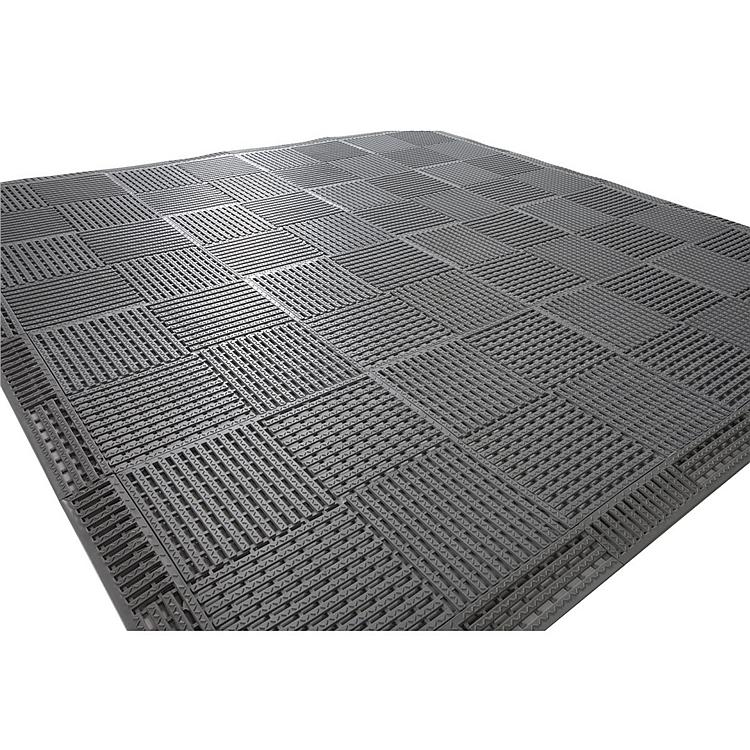 丽施美 康安模块疏水防滑垫 (灰色) 0.3*0.3m  MKKA70