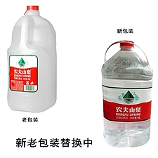 農夫山泉 礦泉水 4L