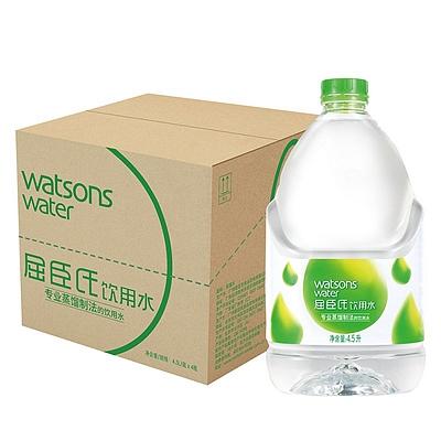 屈臣氏 蒸馏水 4.5L