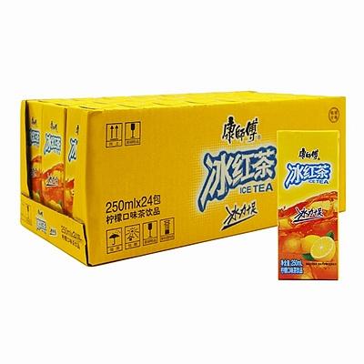 康师傅 冰红茶饮料利乐包 250ml*24盒/箱