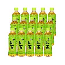 伊藤园 原味绿茶(无糖)量贩 500ml*15瓶/箱