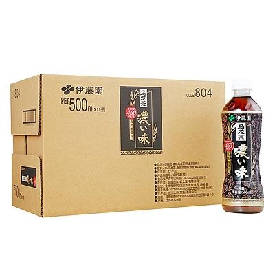 伊藤园 浓味乌龙茶(无糖)量贩 500ml*15瓶/箱